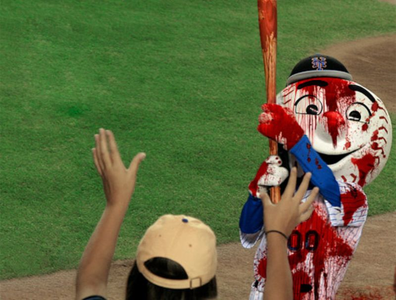 Mr. Met Joins the Tribe (not the Clevelandteam)